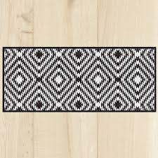 tapis cuisine tapis cuisine carreaux black
