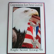 eagle scout congratulations card get your party started greeting cards