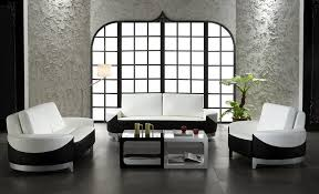 Decor With Accent Black And White Living Room With Accent Color Fabric Sofas Modern