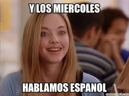 What Does Meme Mean In Spanish - wednesdays we speak spanish