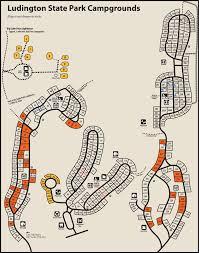 State Park Map by Ludington State Parkmaps U0026 Area Guide Shoreline Visitors Guide