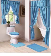 Swag Shower Curtain Sets Double Swag Shower Curtain Set Best Shower Curtain Ideas