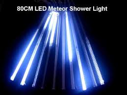led meteor shower light
