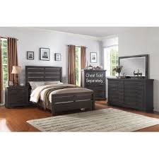 Dark Gray Casual Contemporary  Piece King Bedroom Set - Rc willey king bedroom sets