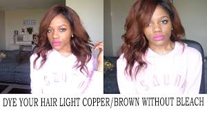Light Copper Brown How To Properly Dye Your Hair From Dark To Light Copper Brown