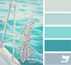 11 peaceful paint palettes inspired by the sea beach color