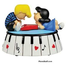 schroeder and from peanuts collectibles gifts piano