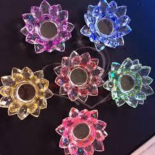 lotus candle holder 3 colors diffuser delicate ceramic lotus