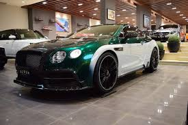 bentley gt3r custom mansory continental gt race appears for sale in saudi arabia