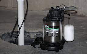 low water sump pump wayne cdu980e 3 4 hp submersible cast iron and stainless steel