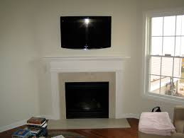 Mounting Tv Over Brick Fireplace by Mount Tv Above Brick Fireplace Home Design Ideas