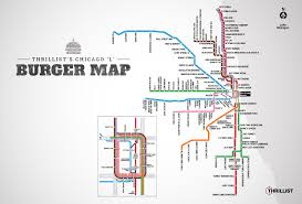 Chicago Loop Map by The Best Burger In Chicago At Every L Stop Thrillist