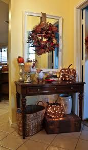 Entryway Table Decor by Inspiring Fall Decor Ideas Decoration Front Doors And Doors