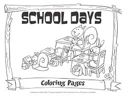 my little house days coloring pages
