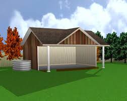 16 X 24 Garage Plans by Multi Use Barn Garage Stable Plans 26048 U S 19 99