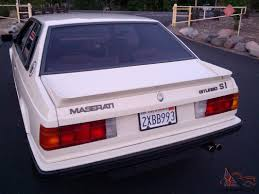 maserati biturbo maserati biturbo base coupe 2 door 2 5l