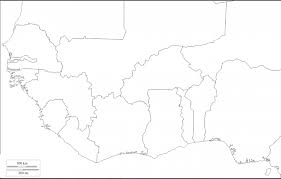 west africa map blank printable blank map of africa pdf