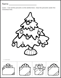 preschool cut and paste christmas have added christmas