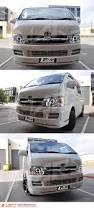 hiace crystal clear ccfl angel eyes projector head lights for toyota