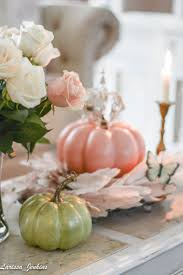 pink home decor inspiring pink fall decorations french country home tour