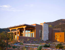 Southwestern Homes Santa Fe Home Southwestern Style Modern Architecture