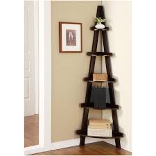 Leaning Ladder Bookcases by Ladder Shelf Ana White Mintra Oak Finish 5 Tier Ladder Black