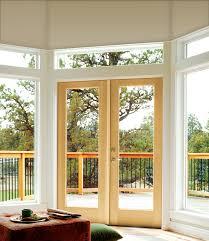 Jeld Wen 4500 by Authentic Wood Glass Panel Exterior Door Jeld Wen Windows U0026 Doors