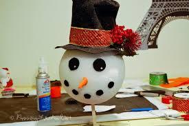 snowman tree how to make a snowman tree topper artist weaver