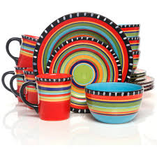kitchen colorful dinnerware sets for kitchen design colorful