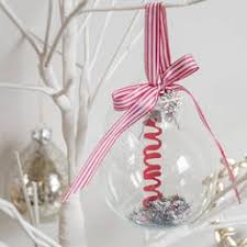 Baby S First Christmas Bauble Glass by Personalised Papercut Glass Bauble Glass And Christmas Baubles