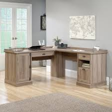 Sauder L Shaped Desk With Hutch Barrister L Shaped Desk 418270 Sauder