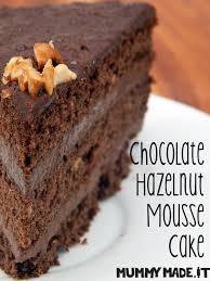 chocolate hazelnut mousse cake glutenfree grainfree paleo