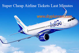 cheap airline tickets last minute domestic flight ticket