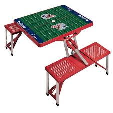 picnic time new england patriots sport patio picnic table 811 00