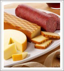 Sausage And Cheese Gift Baskets Hickory Farms Summer Sausage And Cheese Gift Basket Cheese Gifts