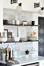 Kitchen Shelf Ideas Black Kitchen Shelves Tags Contemporary Kitchen Shelf