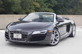 audi supercar convertible 2011 audi r8 5 2 quattro spyder stock p002179 for sale near