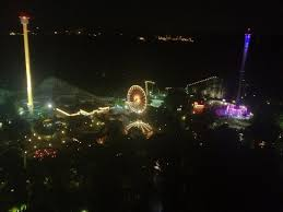 Dominion Lighting From Tower1 Picture Of Kings Dominion Doswell Tripadvisor