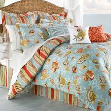 Beach Bedspread Beach Bedding Beach Bedding Sets Hightide Shells Quilt Nautical