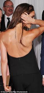 samantha tattoo on her neck victoria beckham is removing hebrew neck tattoo tribute to husband