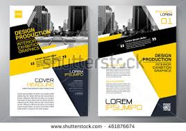 design flyer business brochure flyer design a4 template stock vector 461876674