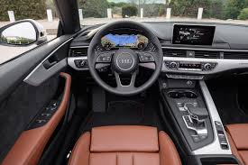 audi dashboard a5 2017 audi a5 cabriolet cars exclusive videos and photos updates