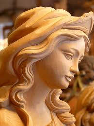 free photo carved fig madonna pretty wood max pixel