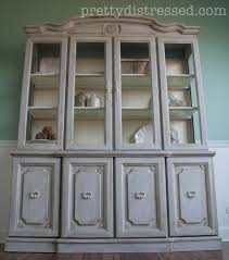 for my first coat i used annie sloan chalk paint in paris grey
