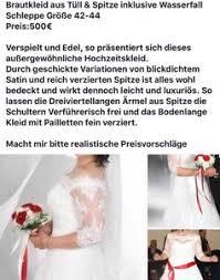 gebrauchte brautkleider m nchen brautkleid in münchen deutschland gebraucht shpock