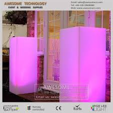Lucite Pedestals Square Pedestal For Wedding Decorations Acrylic Plexi Lucite