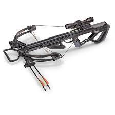 black friday crossbow sale crosman tormentor 370 crossbow black 4x32mm scope 185 lb draw