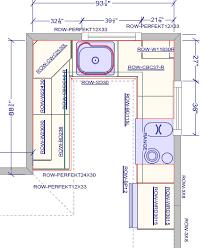 cool small u shaped kitchen floor plans restaurant kitchen floor