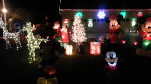 Christmas Yard Decorations Mickey Mouse Disney X Mas Yard Decorations In Fl Youtube