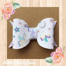 handmade hair bows unicorn hair bow unicorn bow hair bow glitter bow bows